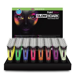 Glow in the Dark Face & Body Paint  10 x 13 ml Tubes